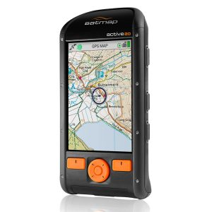 • Satmap Active 20 GPS unit • Ordnance Survey map card as selected above The Active 20 device is also pre-loaded with the following mapping: GB 1:250,000 & 1:1 million OS road mapping World Base Mapping 1:5 million & 1:200 million • 3 months free access to Satmap Xpedition Premium (online mapping and planning tool). • 1m micro USB for charging & data transfer • UK 1A wall & car charger • Documentation, including Quick Start User Guide