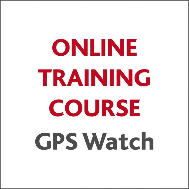 Online Training Course – GPS Watch