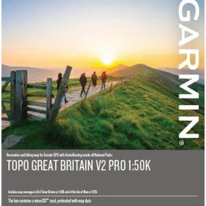 Garmin TOPO Great Britain V2 PRO 1-50k