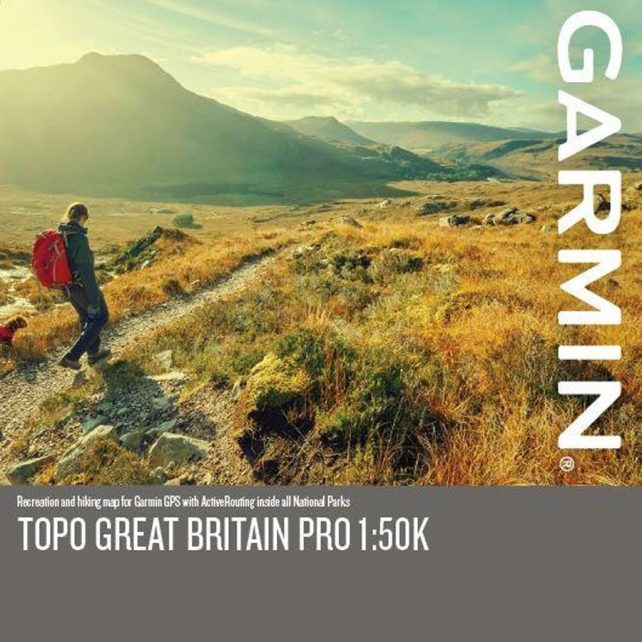 Garmin TOPO PRO map card
