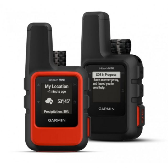 Garmin inReach – both colours