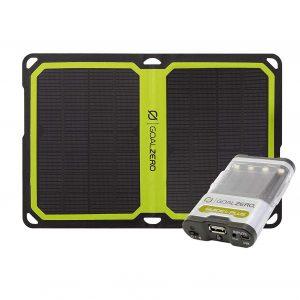 Goal Zero Guide 10 and Solar Panel