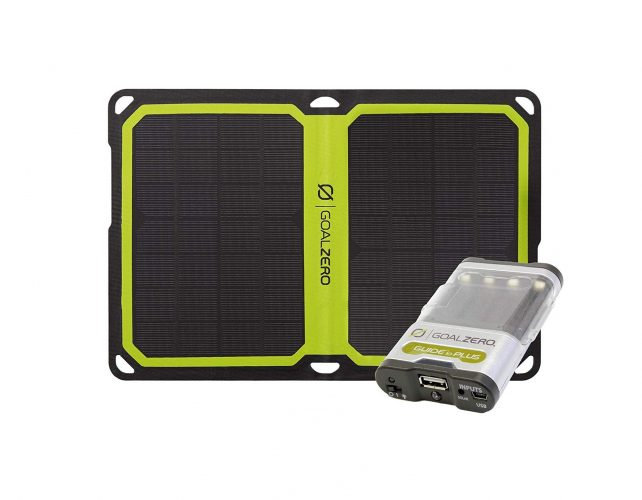Goal Zero Guide 10 and Solar Panel