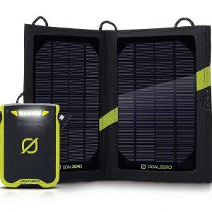 Goal Zero Venture 30 and Solar Panel