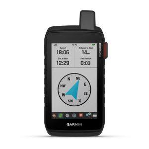 Garmin Montana 700i - compass page - inreach