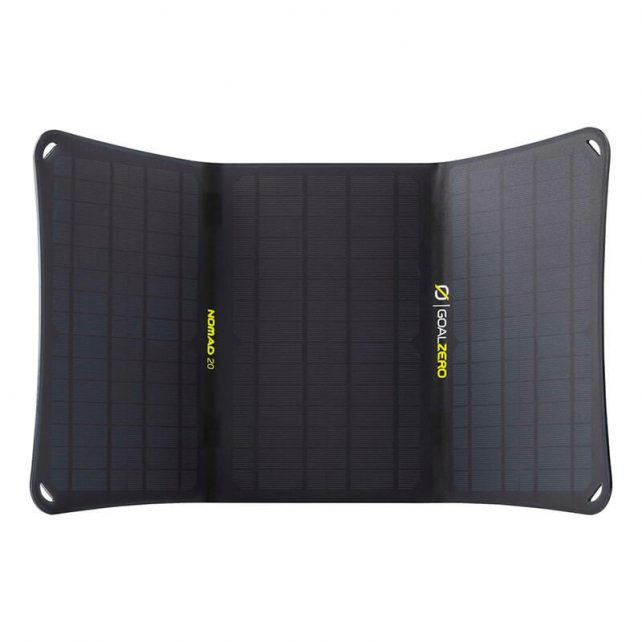 Nomad 20 – solar panel