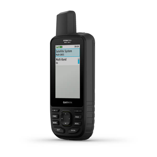Garmin GPSMAP 66sr – Multi-band/GNSS handheld with sensors and TopoActive Europe maps
