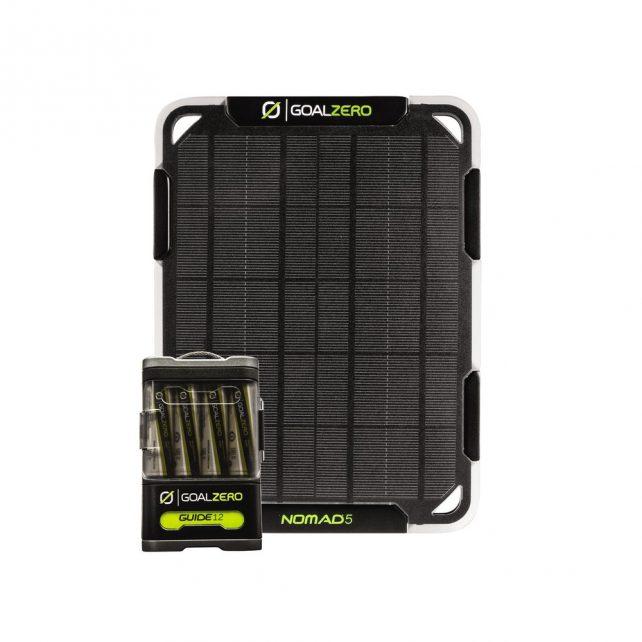 Nomad 5 + Guide 12 Solar Charging Kit